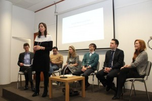 Maria Monteiro, Press & Political Affairs Attaché at the Embassy of Portugal, who organised the forum with the Brazilian embassy and London Press Club, with the panel