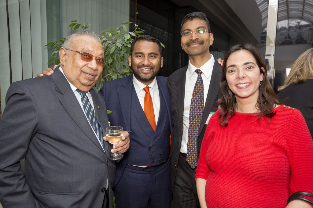Independent editor Amol Rajan and embassy guests at a previous LPC event
