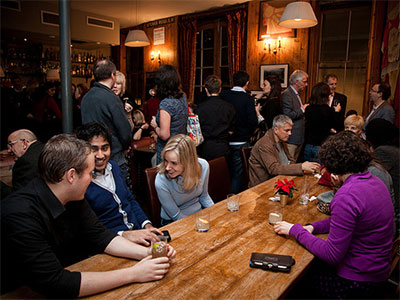 London Press Club revives monthly drinks