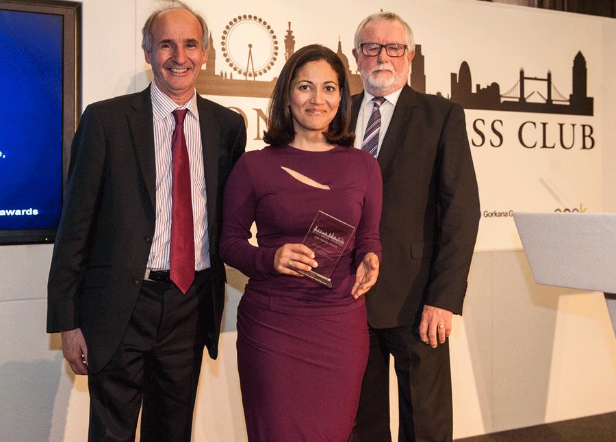 Mirror, MoS and Mishal Husain among winners at Press Club Awards