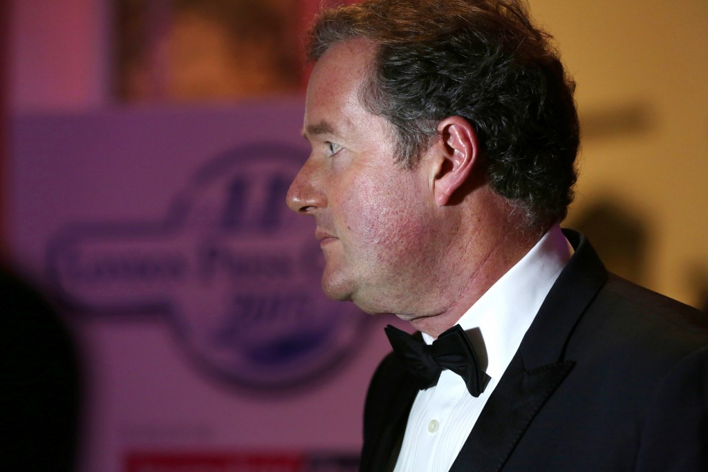 Press Club Ball guest Piers Morgan