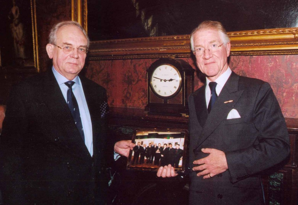 Dennis Griffiths with George Westropp