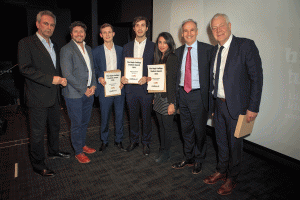 Kevin Maguire, Lloyd Embley, Ashley Kirk, Hugh Davies, Tanveer Martin, Doug Wills and Paul Charman (Photo credit: Adam Gerrard/Daily Mirror)